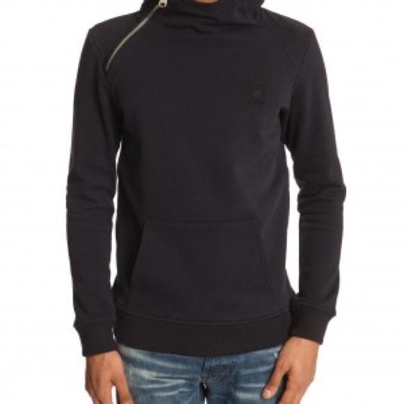 be21c5aae47 G-Star Sweaters | Gstar Raw Mens Navy Side Zip Hoodie | Poshmark